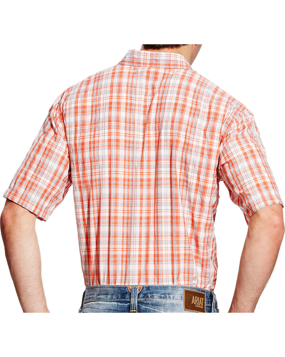 Ariat Men's Coral Plaid VentTEK II Shirt