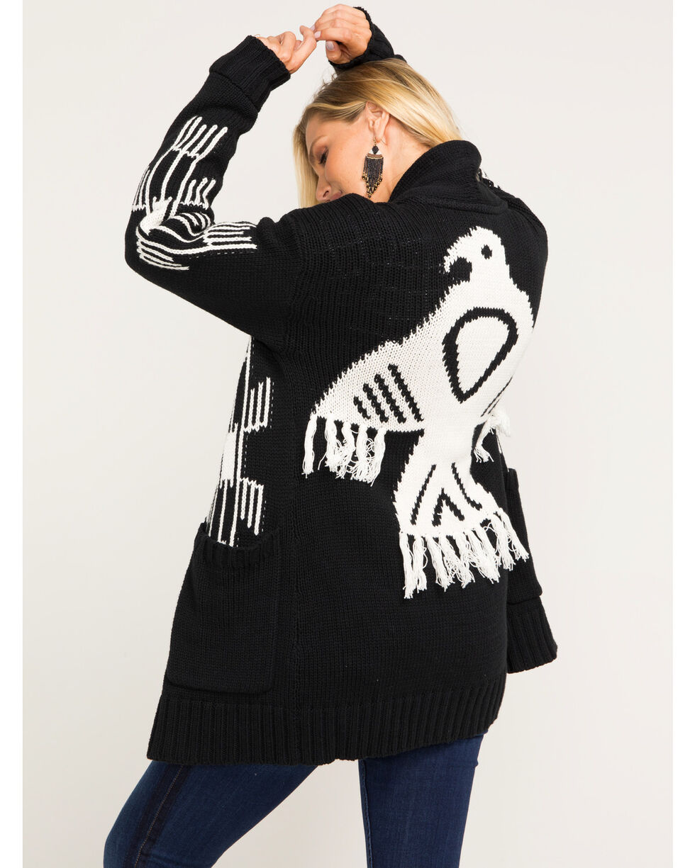 Idyllwind Women's Soar With Me Cardigan Sweater, Black, hi-res