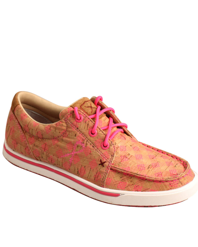 Twisted X Women's Tan Casual Shoes - Moc Toe, Tan, hi-res