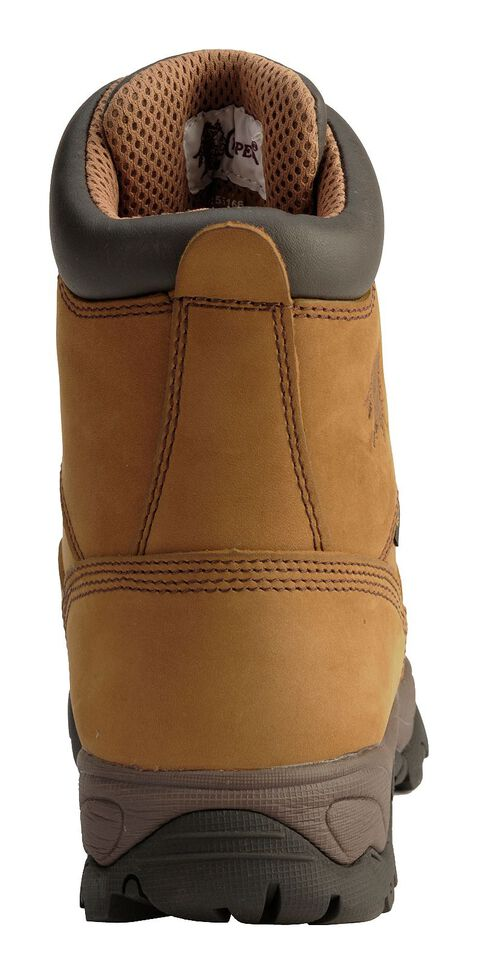 """Chippewa Waterproof & Insulated Bay Apache 8"""" Lace-Up Work Boots - Composite Toe, Bay Apache, hi-res"""