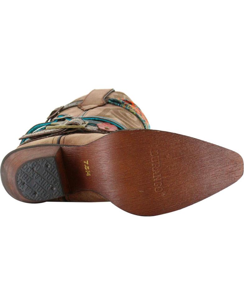 Durango Women's Crush Accessorized Western Fashion Boots - Snip Toe, Brown, hi-res