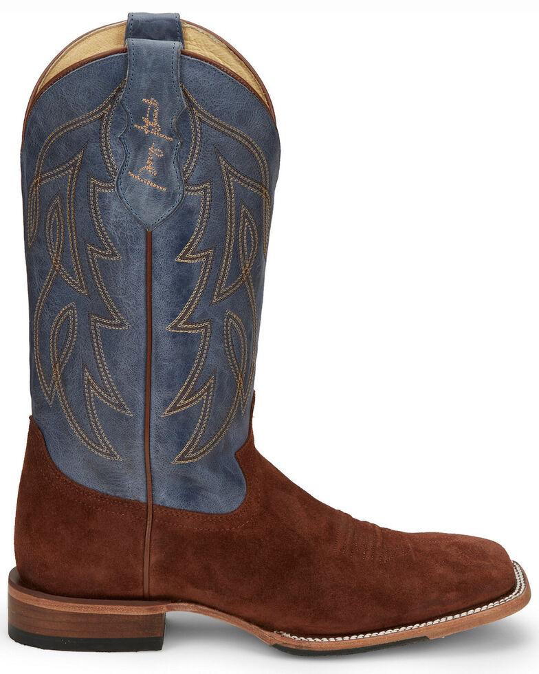 Justin Men's Honkytonkville Western Boots - Wide Square Toe, Rust Copper, hi-res