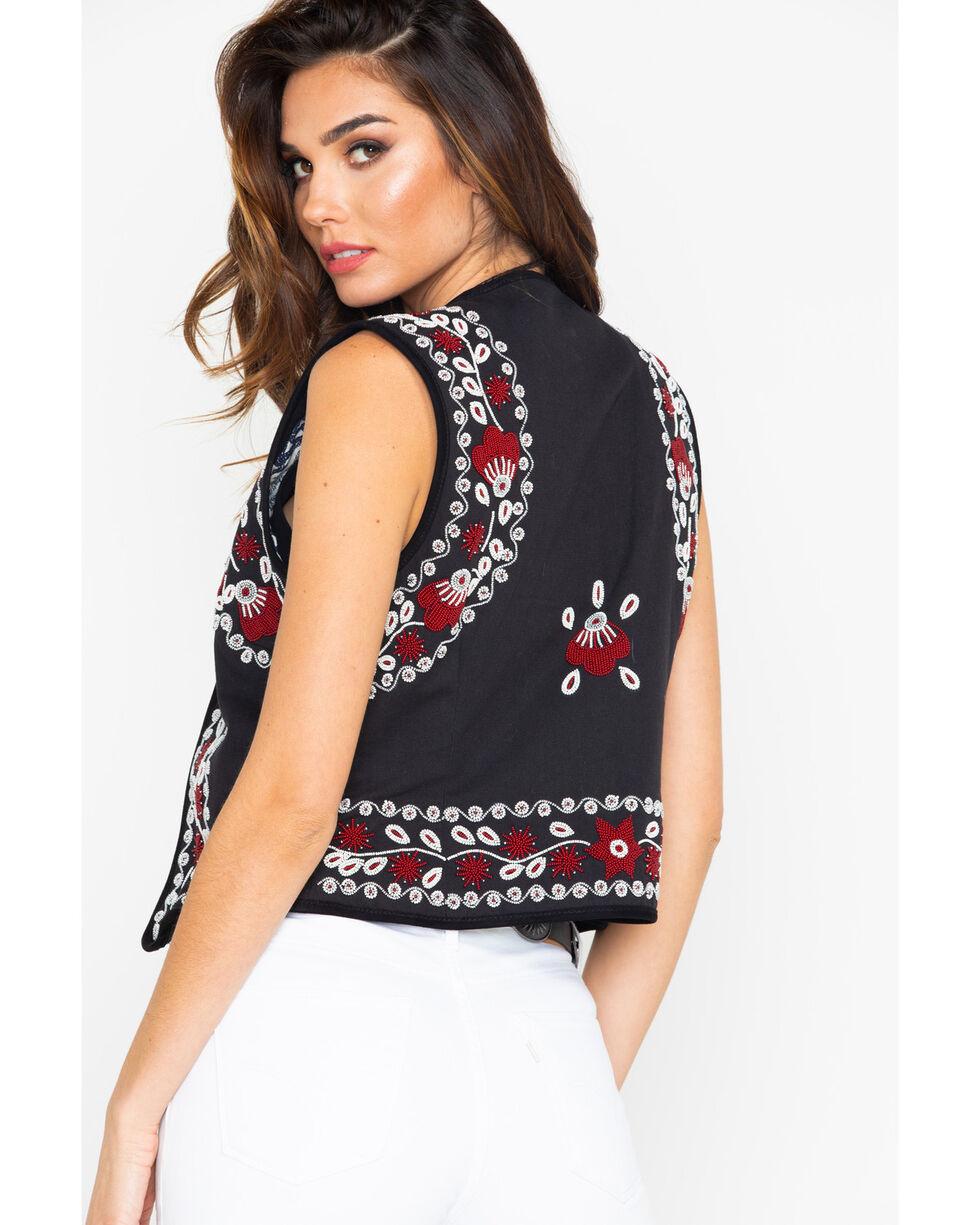 Tasha Polizzi Women's Malia Vest , Black, hi-res