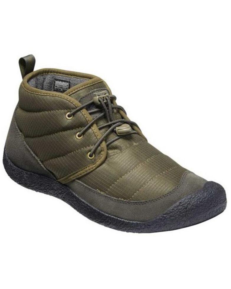 Keen Men's Howser II Chukka Hiking Boots - Soft Toe, Olive, hi-res