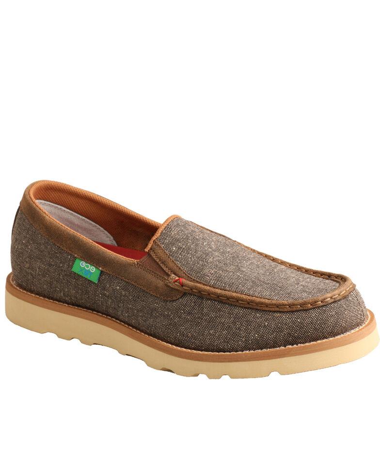 Twisted X Men's ECO TWX Dust Light Shoes - Moc Toe, Lt Brown, hi-res