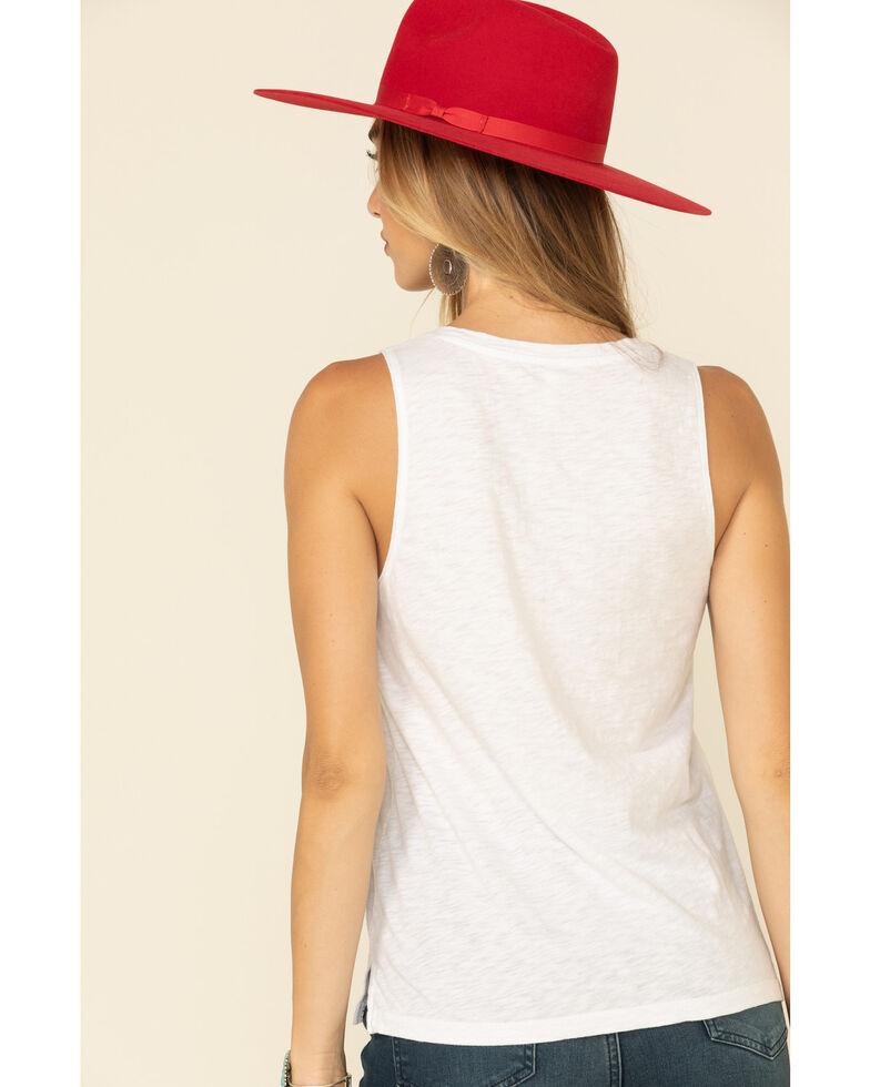 Z Supply Women's White Sunset Star Tank Top, White, hi-res