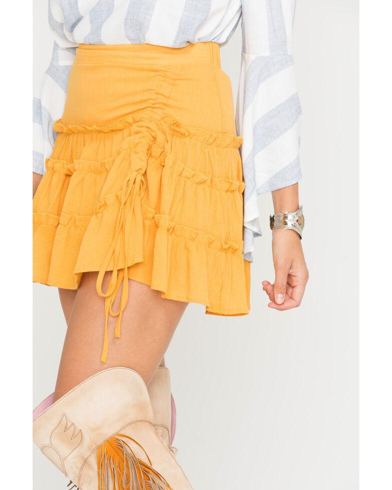 Sage the Label Women's Yellow Rio Skirt , , hi-res