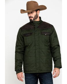 Cody James Men's Deer Hunter Heavy Weight Puffer Jacket , Olive, hi-res