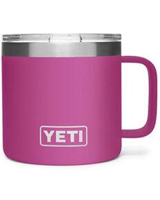 Yeti Rambler Prickly Pear 14oz Mug, Pink, hi-res