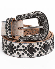 Idyllwind Women's Sweet Souls Studded Belt, Steel, hi-res