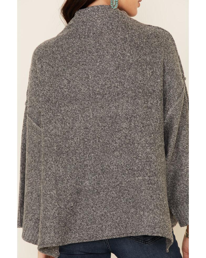 Sadie & Sage Women's Sparrow Cowl Neck Sweater , Grey, hi-res