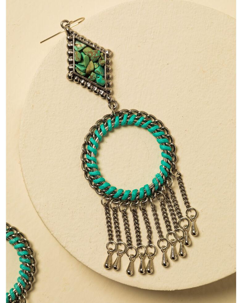 Idyllwind Women's Keep It Moving Fringe Earrings, Silver, hi-res