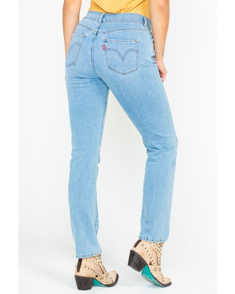 Levi's Women's 4 Way Stretch Sidetracked Light Skinny Jeans , Blue, hi-res