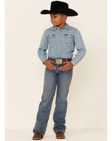 Cinch Boys' White Label Jeans - 8-16 Regular, Denim, hi-res
