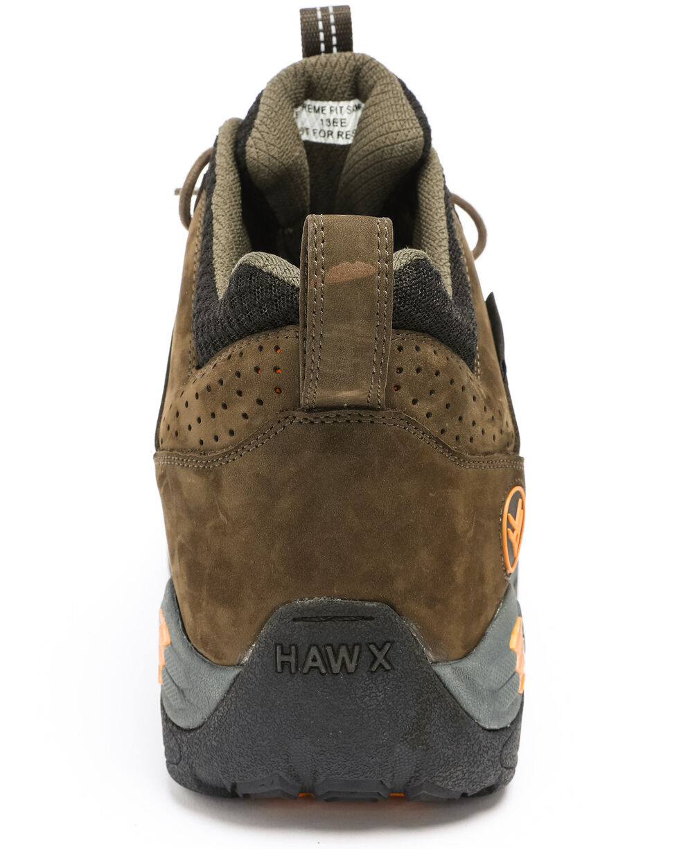 Hawx® Men's Axis Waterproof Hiker Boots - Round Toe, Moss Green, hi-res