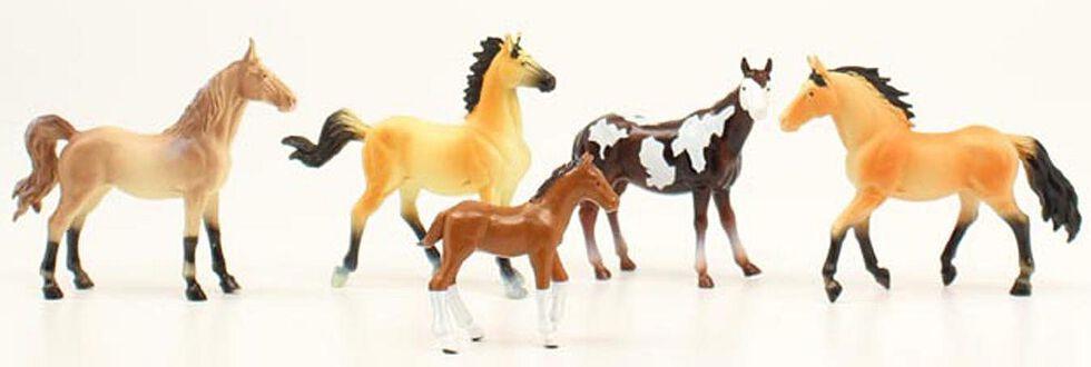 Kids' Toy Horse Set, Assorted, hi-res