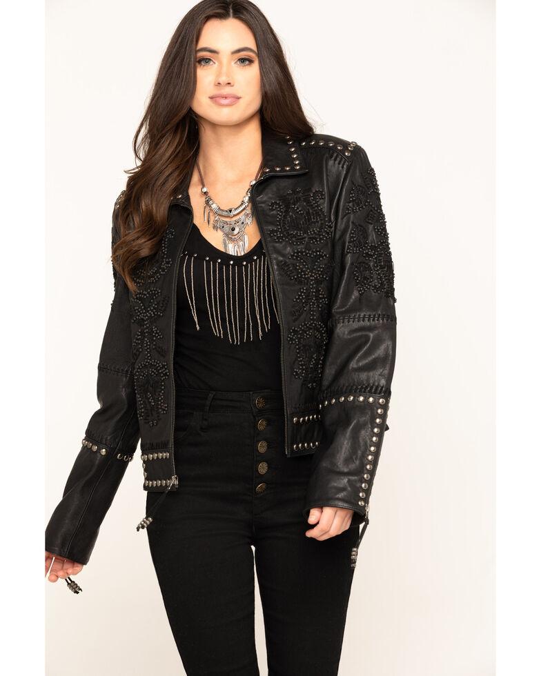 Double D Ranch Women's Tasajulillo Jacket , Black, hi-res