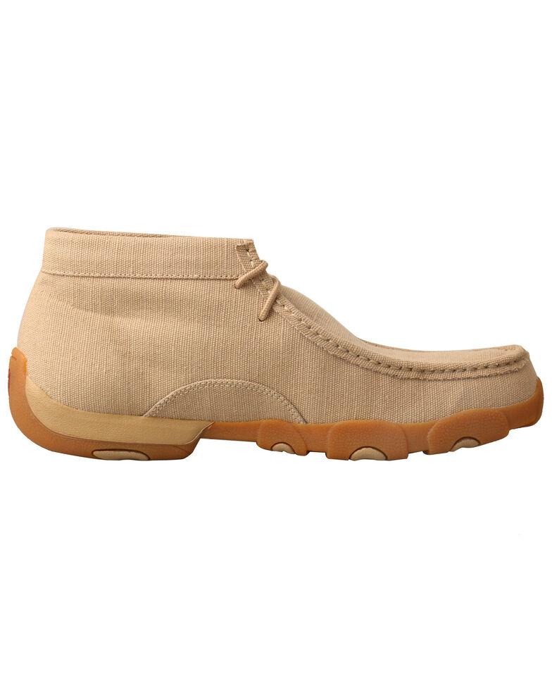 Twisted X Men's ECO TWX Driving Moccasin Shoes - Moc Toe, Beige/khaki, hi-res