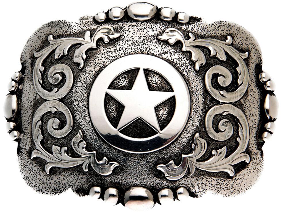 AndWest Cabrillo Vintage Lone Star, Silver, hi-res