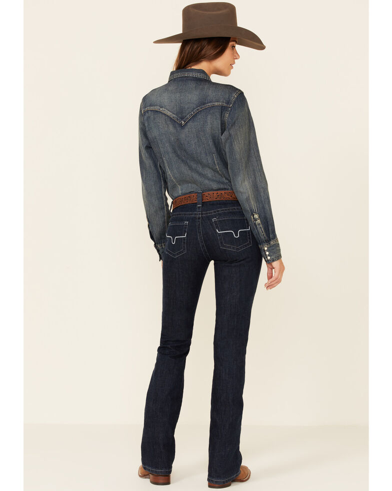 Kimes Ranch Women's Jolene Flare Bootcut Jeans, Indigo, hi-res