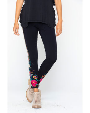 Johnny Was Women's Katina Leggings , Black, hi-res