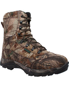 """Ad Tec Men's 10"""" Real Tree Camo Waterproof 800G Hunting Boots, Camouflage, hi-res"""