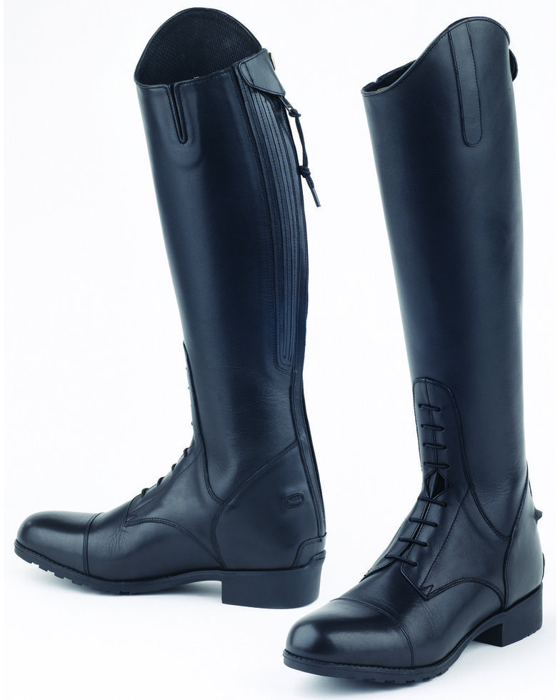 Mountain Horse Girls' Venice Jr. Field Boots, Black, hi-res