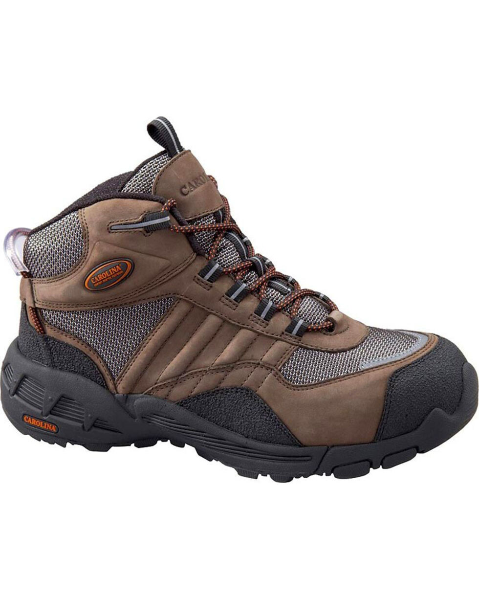 Carolina Men's AeroTrek Hiking Boots - Steel Toe, Brown, hi-res