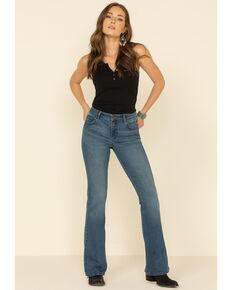 Lee Women's Kansas Fade Mid-Rise Bootcut Jeans , Blue, hi-res