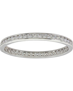 Montana Silversmiths Women's An Evening Out Hinged Bracelet, Silver, hi-res