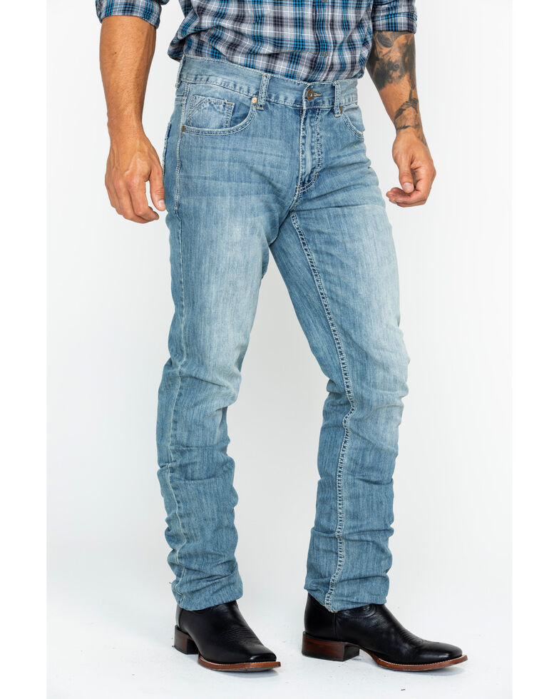 Cody James Men's Winslow Slim Straight Jeans , Blue, hi-res
