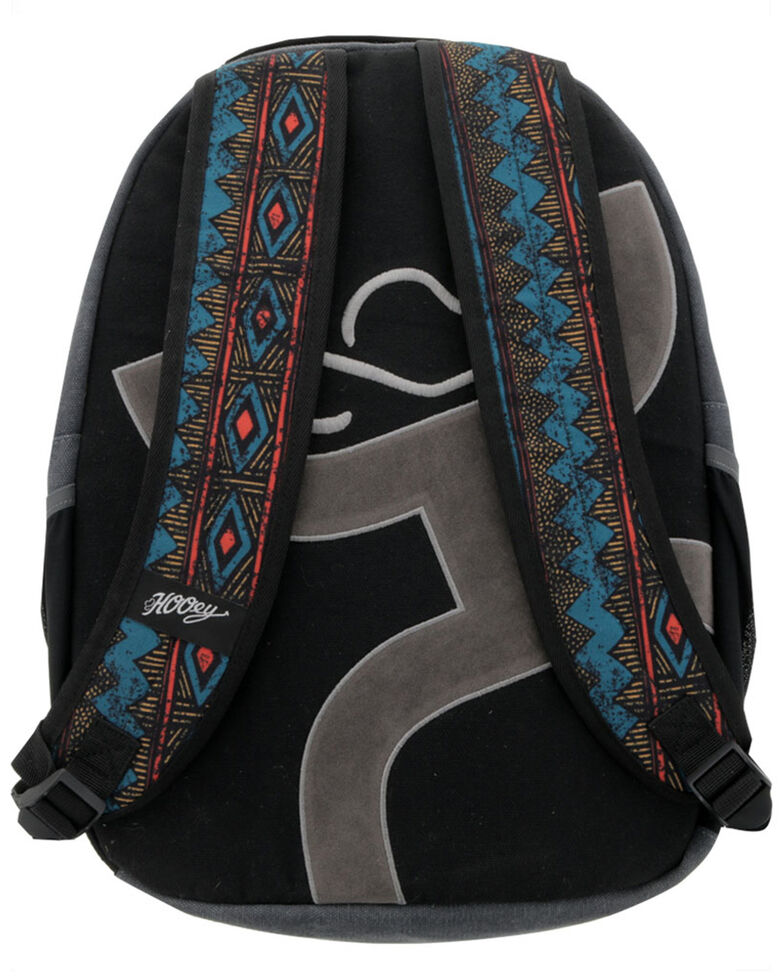 HOOey Recess Aztec Print Backpack, Grey, hi-res