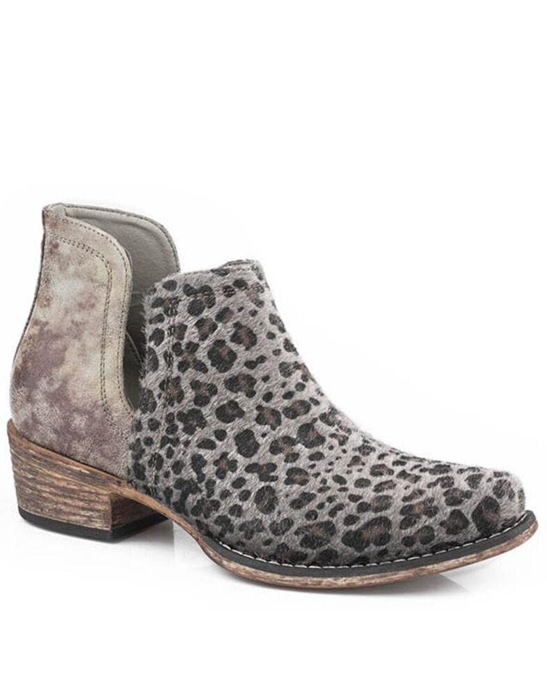Roper Women's Ava Fashion Booties - Snip Toe, Grey, hi-res