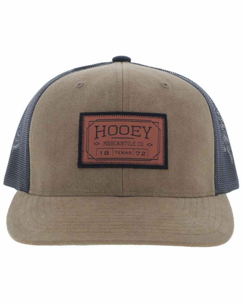 HOOey Men's Tan Doc Mesh Ball Cap , Tan, hi-res
