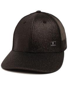 Ariat Men's Richardson Contrast Stitching Cap, Black, hi-res