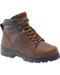 """Carolina Men's 6"""" Broad Toe Internal Metguard Work Boots - Steel Toe, No Color, hi-res"""