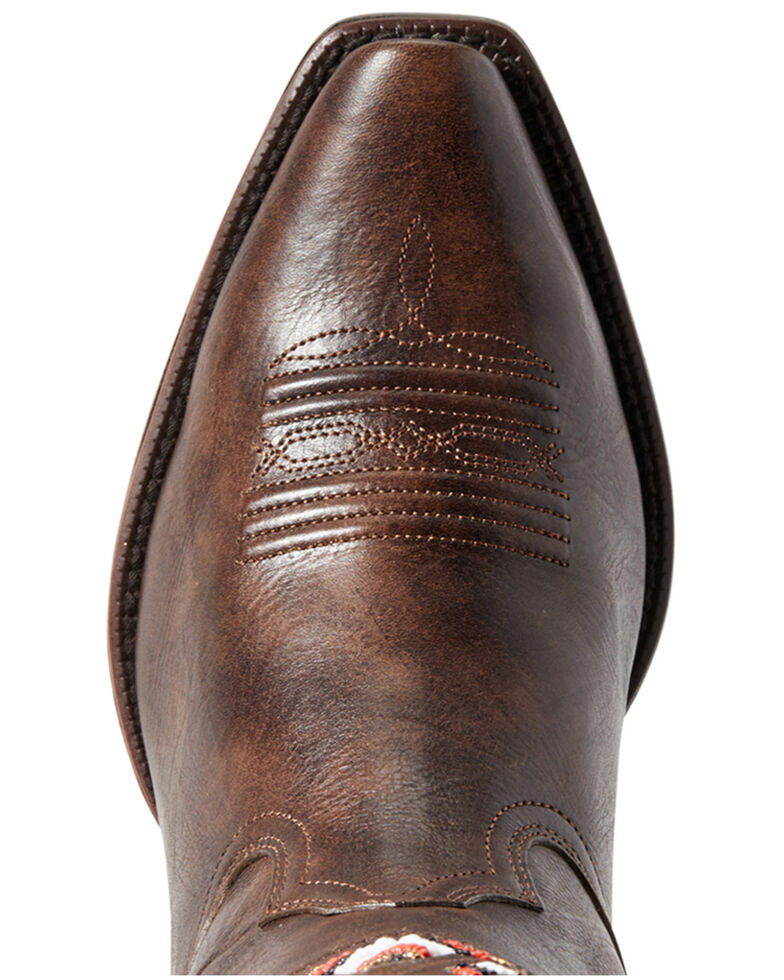 Ariat Women's Frontera Western Boots - Snip Toe, Brown, hi-res