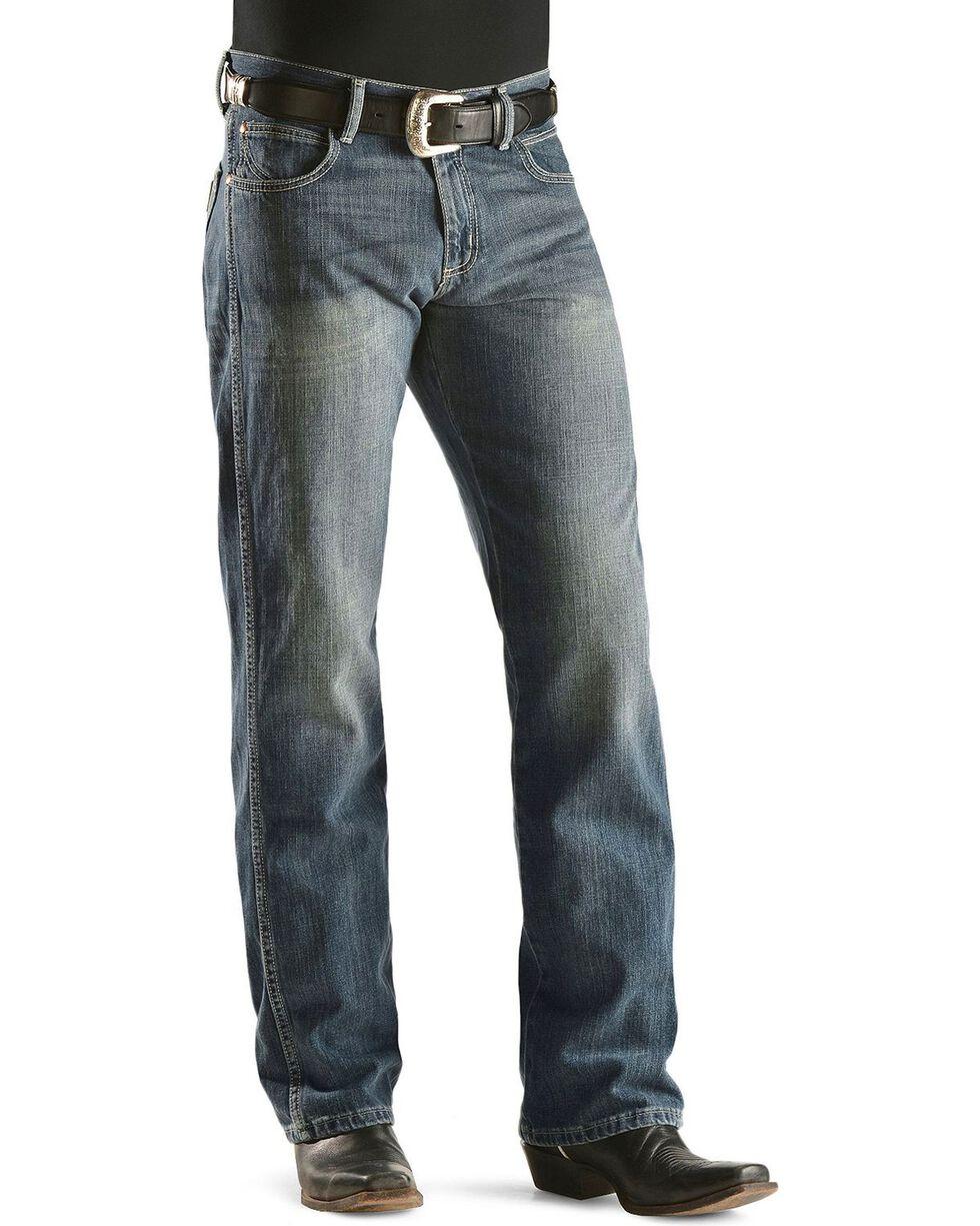 """Wrangler Jeans - Retro Regular Fit - 38"""" Inseam, Denim, hi-res"""