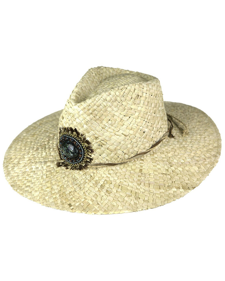 Peter Grimm Women's Maria Maize Straw Fashion Hat , Natural, hi-res