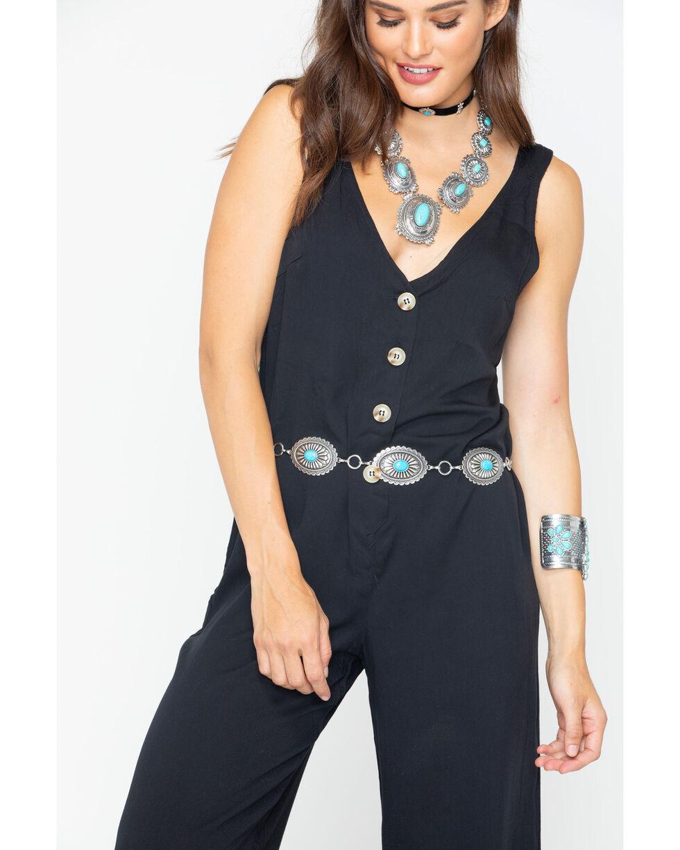 Sadie and Sage Women's Jeanette Jumpsuit , Black, hi-res