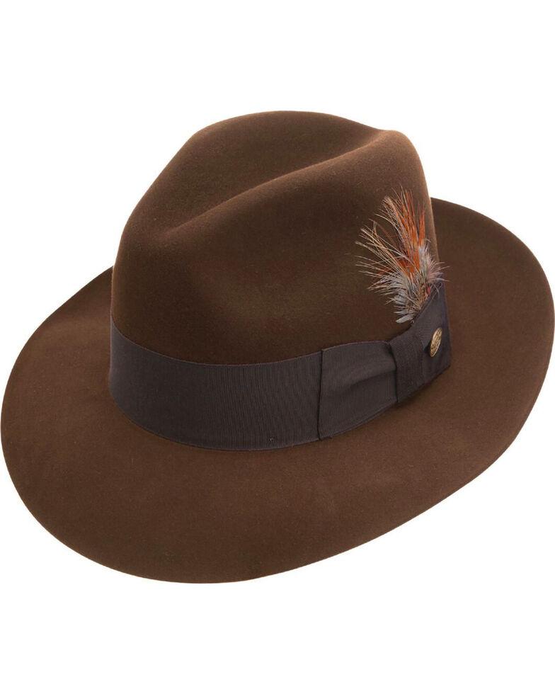 f953626fac1c1 Stetson Men s Pinnacle Beaver Fur Felt Fedora - Country Outfitter