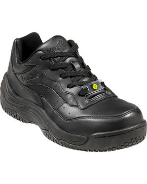 Nautilus Men's Black Ergo Slip-Resistant Athletic Work Shoes , Black, hi-res