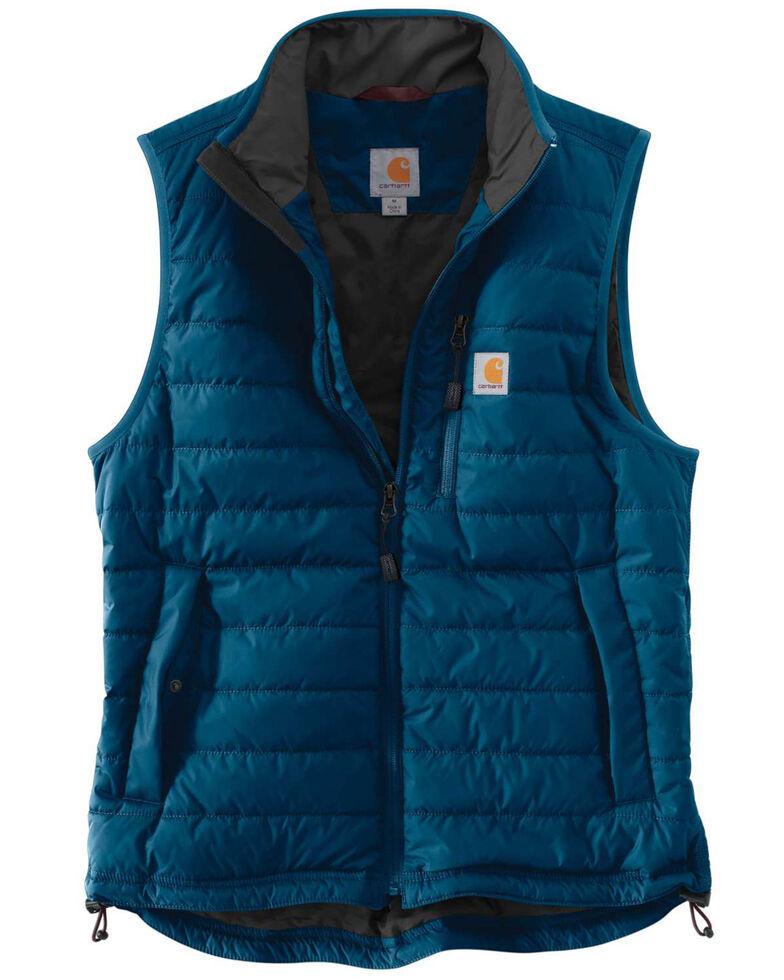 Carhartt Men's Gilliam Work Vest - Big , Dark Blue, hi-res
