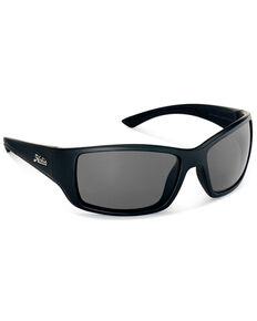 Hobie Men's Everglades Satin Black & Grey Frame Polarized Sunglasses  , Black, hi-res