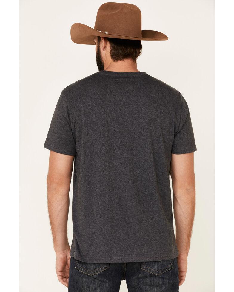 Wrangler Men's Charcoal Rock & Rodeo Guitar Graphic T-Shirt , Charcoal, hi-res