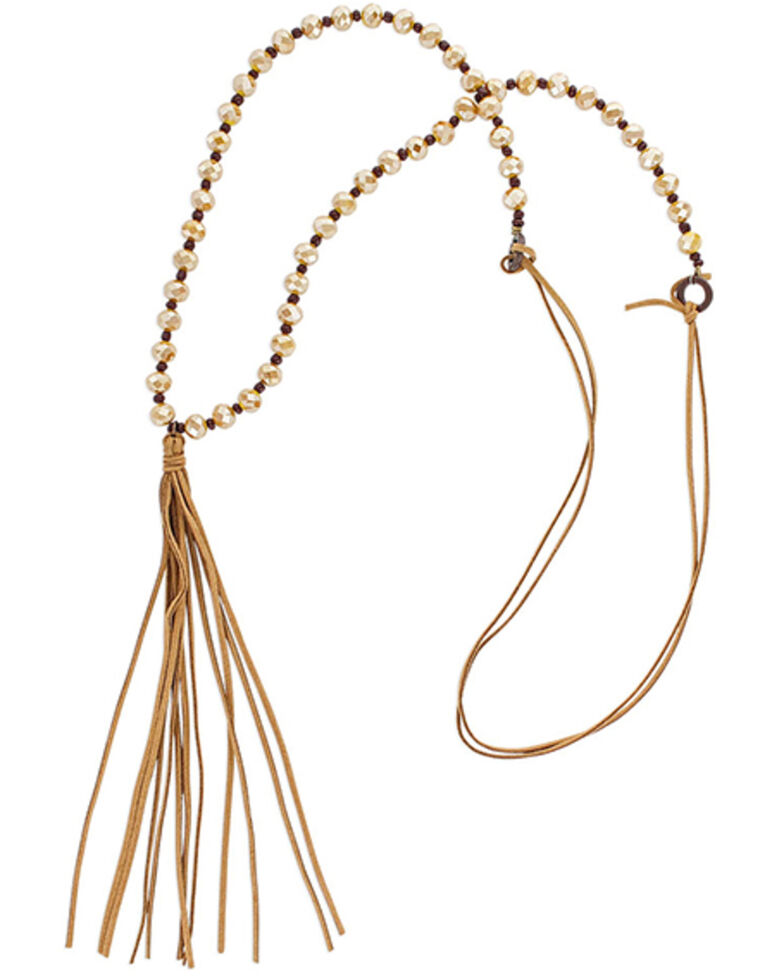 Montana Silversmiths Women's Whispering Tails Golden Necklace, No Color, hi-res
