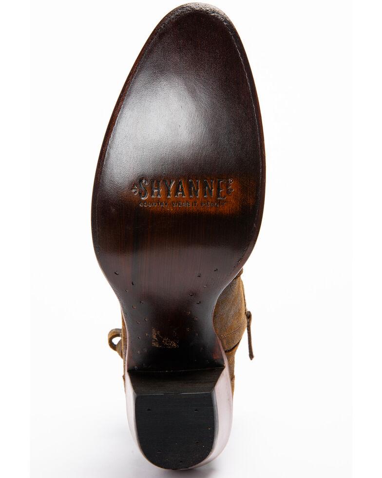 Shyanne Women's Collins Tan Booties - Medium Toe, Tan, hi-res