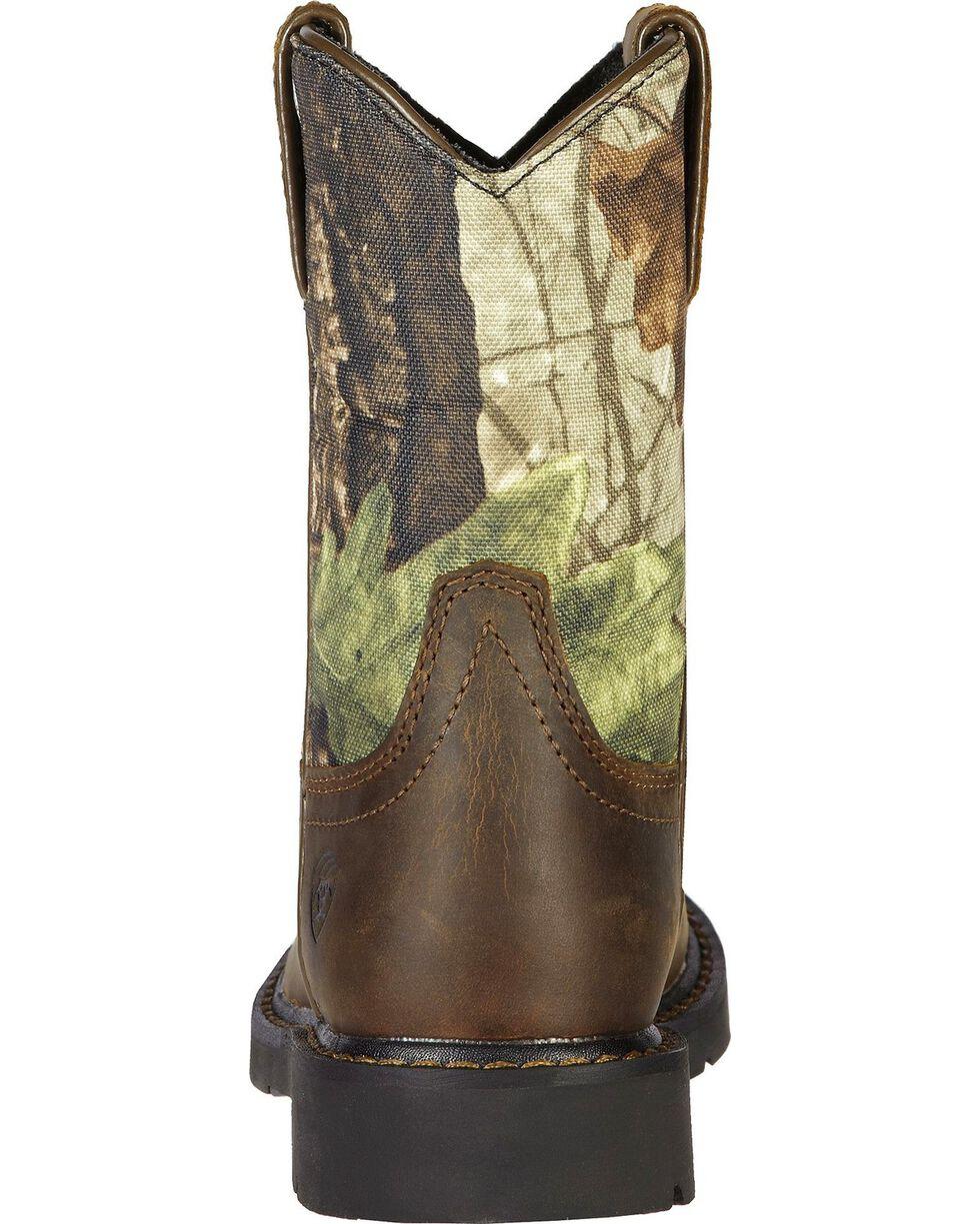 Ariat Boys' Sierra Distressed Cowboy Boots, Brown, hi-res