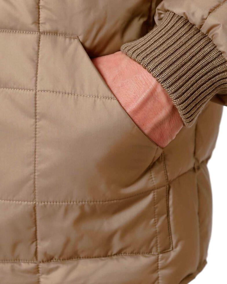 Roper Men's Rangegear Insulated Jacket, Brown, hi-res