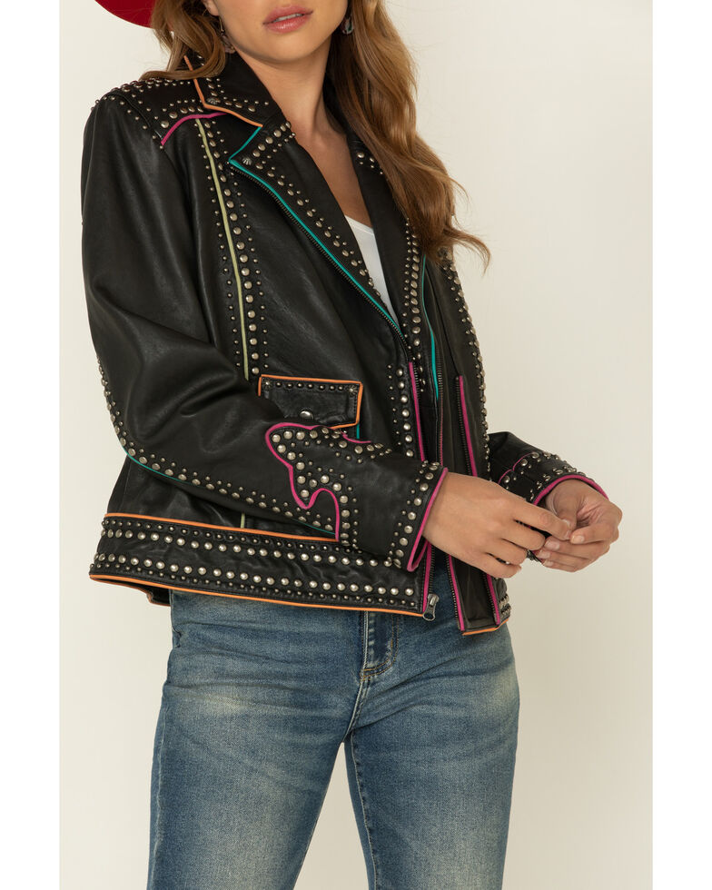 Double D Ranch Women's Southern Nights Jacket , Black, hi-res